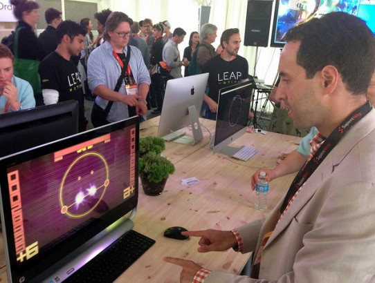 Leap Motion at SXSW 2013